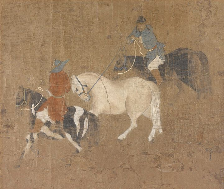 After Zhao Mengfu (Chinese, 1254-132 - Old master image