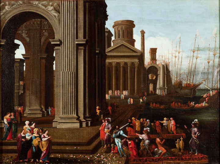 Agostino Tassi (Agostino Buonamici)~ - Old master image
