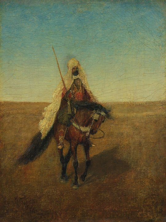 Albert Pinkham Ryder~The Lone Scout - Old master image