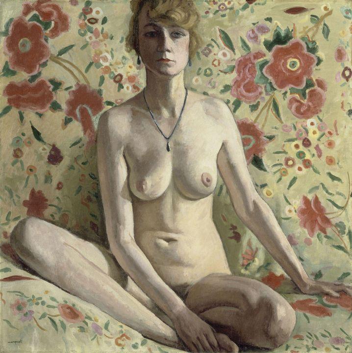 Albert Marquet~La Femme blonde - Old master image