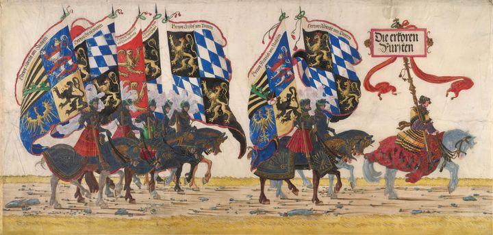 Albrecht Alterdorf~The German Prince - Old master image