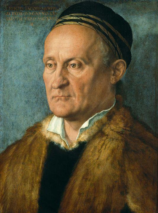 Albrecht Durerr~Jakob Muffel - Old master image