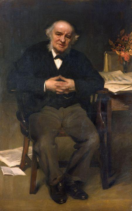 Charles Wellington Furse~Sir George - Old master image