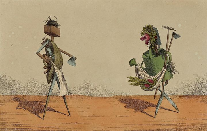 Charles Williams~Implements Animated - Old master image