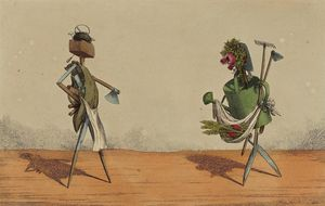 Charles Williams~Implements Animated