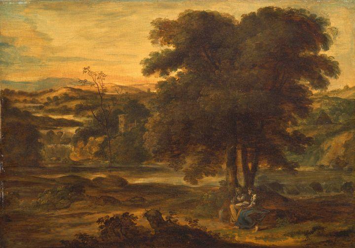 Alexander Langsiman~Classical Landsc - Old master image