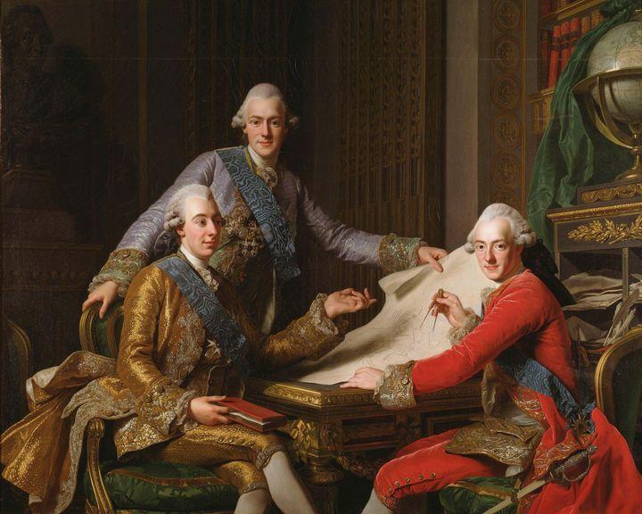 Alexander Roslin~King Gustav III of - Old master image