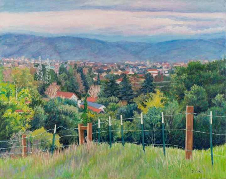Cupertino, California Valley View - Denise Sils, Inc.