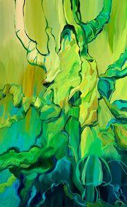 Tree with jellyfish - Olga Verdi