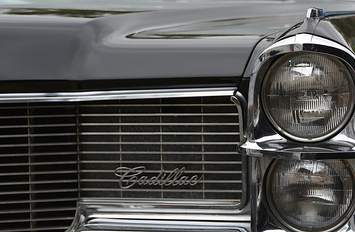 Vintage Vadillac Emblem closeup - Renee Anderson