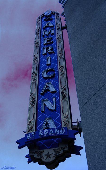 Americana Vintage Landmark - Renee Anderson