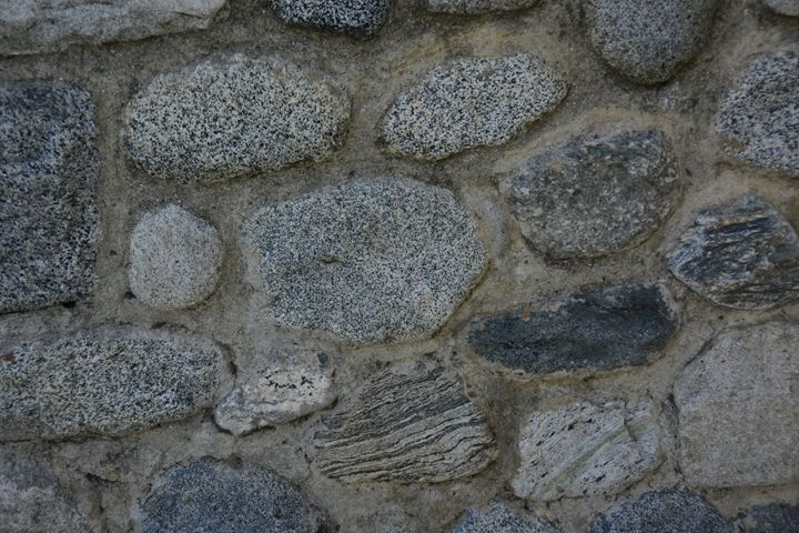 Blue Stone Wall - Renee Anderson