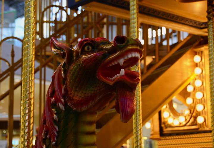 Carousel Dragon - Renee Anderson