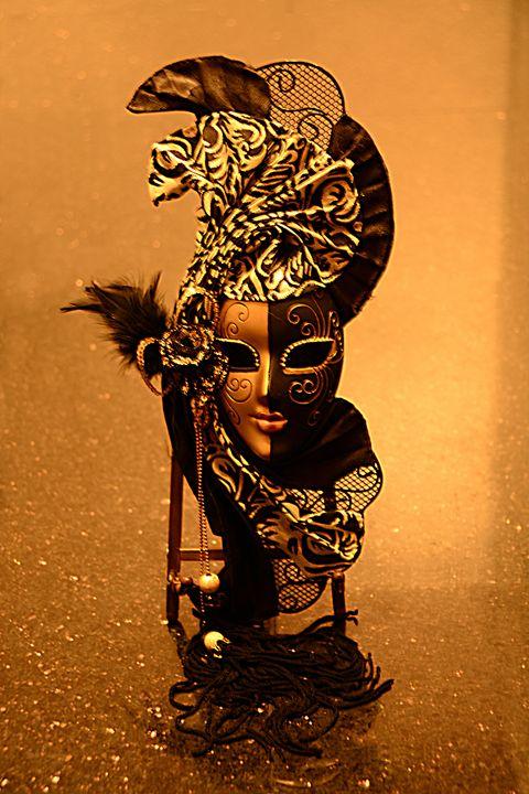 Masquerade Mask Dancing - Renee Anderson