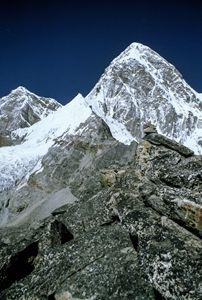A view from Kala Pattar of Everest - karl krueger