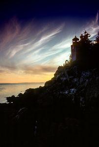 Sunset on Bar Harbor Maine - karl krueger