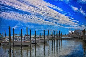 mooring boats.S.Jersey