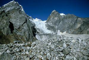 Ice fields, Nepal
