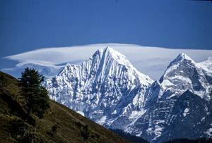 View of the mountians. Nepal - karl krueger