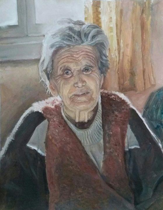 a spiritual woman - Konstantinos Dls Art