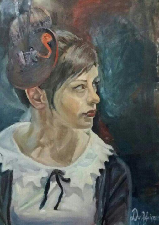 A girl who graduates fine art school - Konstantinos Dls Art