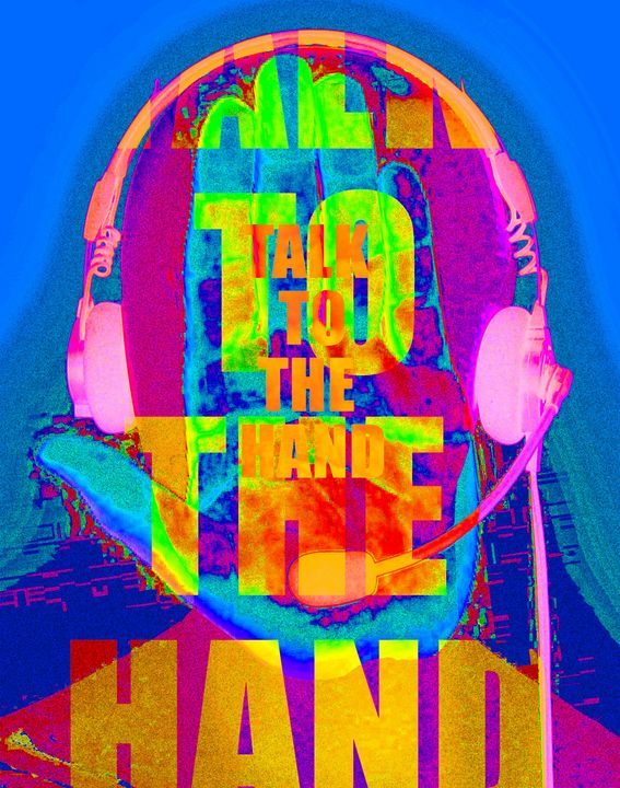 Talk to the hand - Frustration - Rose Makin
