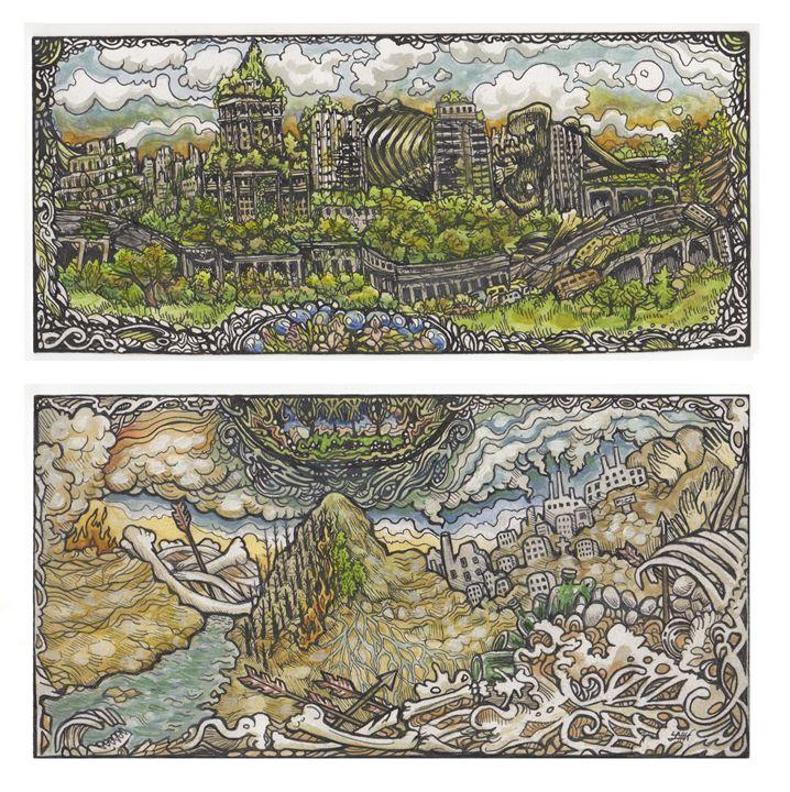 Uninhabitable (Album Art) - Lauren Elise Willsie