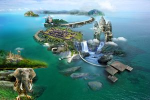 wonder island of cambodia