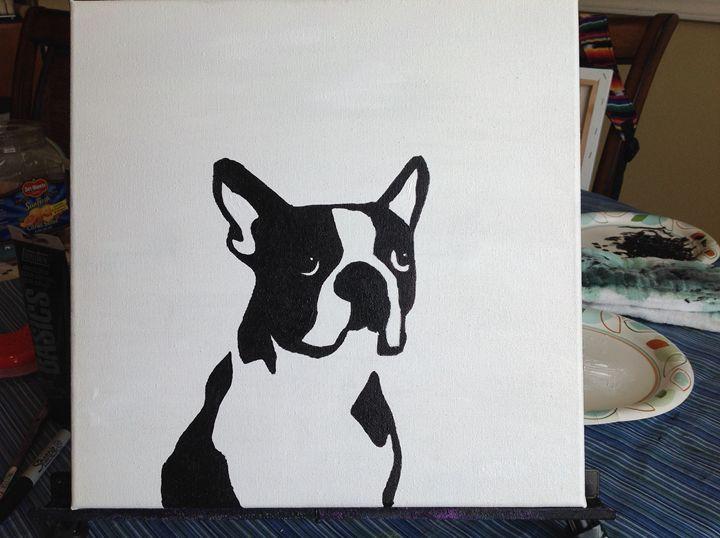 Boston Terrier Pop Art - Cindy Magallanes