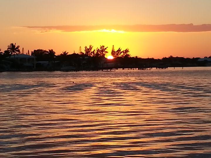 Sunset in Key Largo IV - 2GuysRving Traveling Gallery