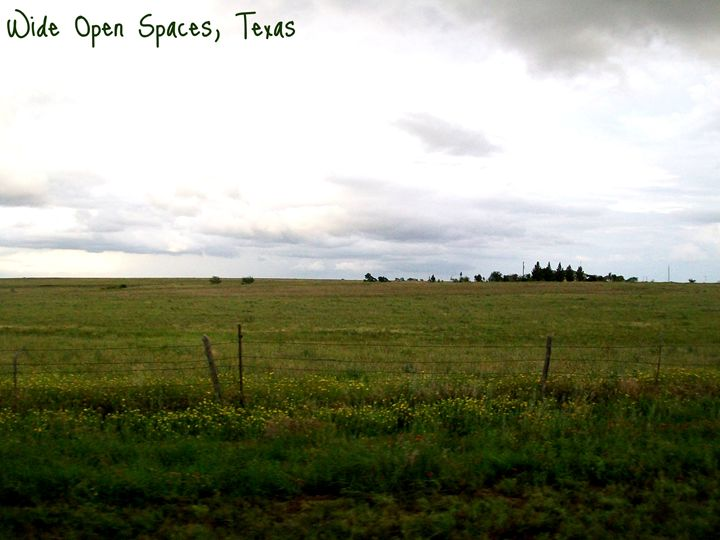 Wide Open Spaces - Panhandle Moments