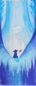 Lion King Watercolor Bookmark
