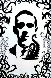 H.P. Lovecraft - Portrait