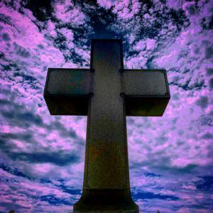 Purple Sky Cross