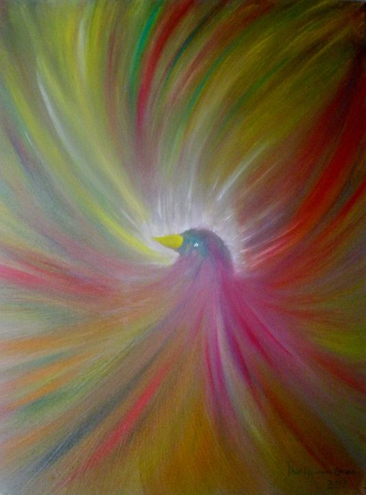 Aves - paintings