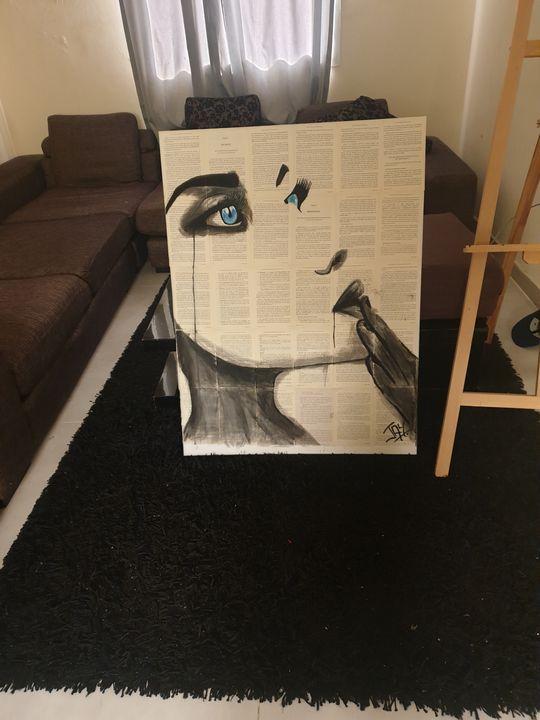 FACE - paper paint