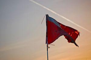 Flagging Sunset - Phlipd Signals