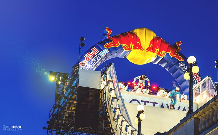 Red Bull - Crash Ice - Danny Photography