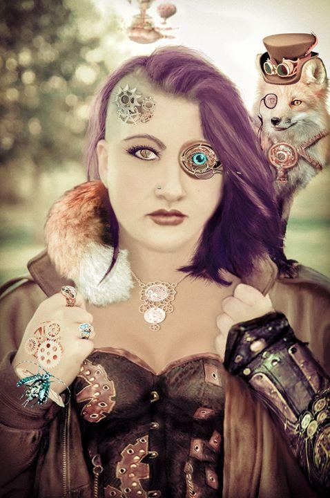 Steampunk Sarah - Candie Witherspoon