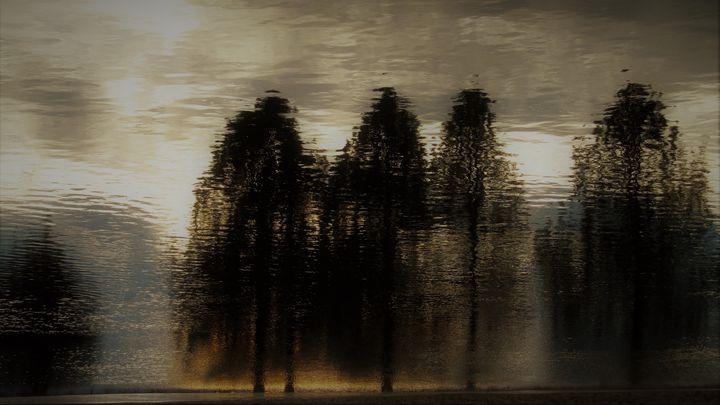 Hazy Morning - Amanda Paints LLC