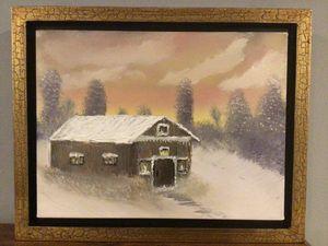 Snowy Berkshire Cabin