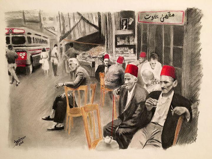 Old Beirut Cafe' - History