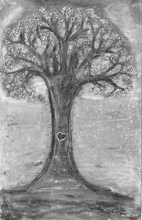 Love Tree - Vendula's Art