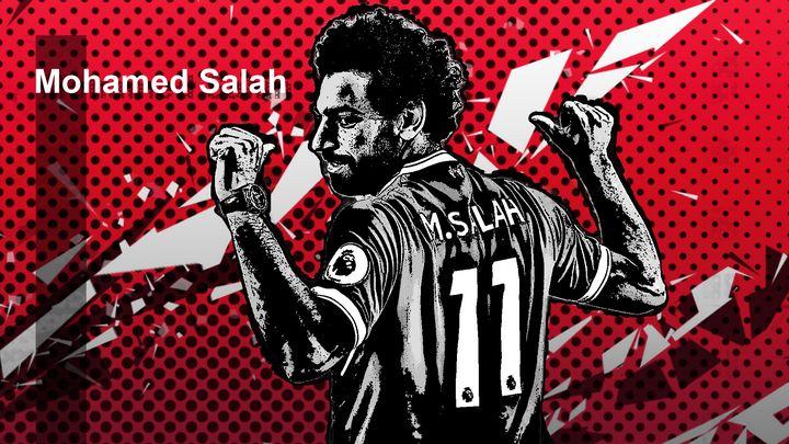 Mohamed Mo Salah Fanart By Shree - Shree
