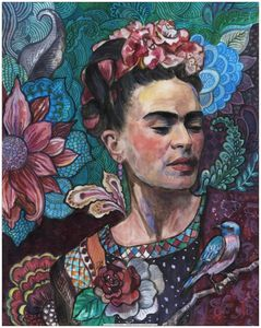 Frida Kahlo portrait (1)