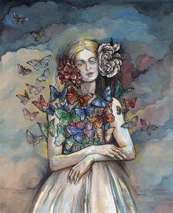 Butterfly Woman.
