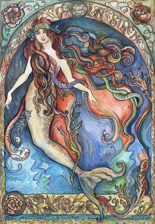 The Mermaid - La Sirène. - FanitsaArt
