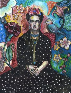 Frida Kahlo portrait - 2