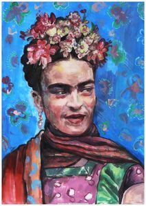 Frida Kahlo portrait - 3