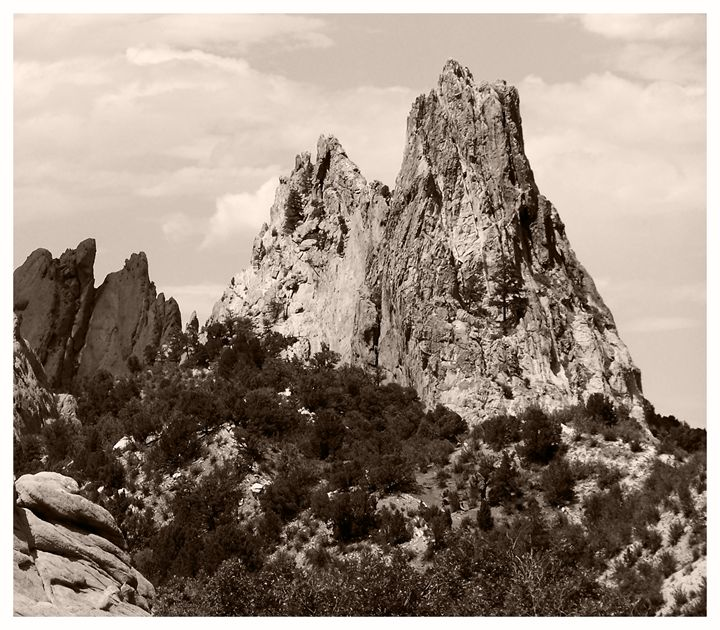 Garden of The Gods - Creations of a Seeker of Signs